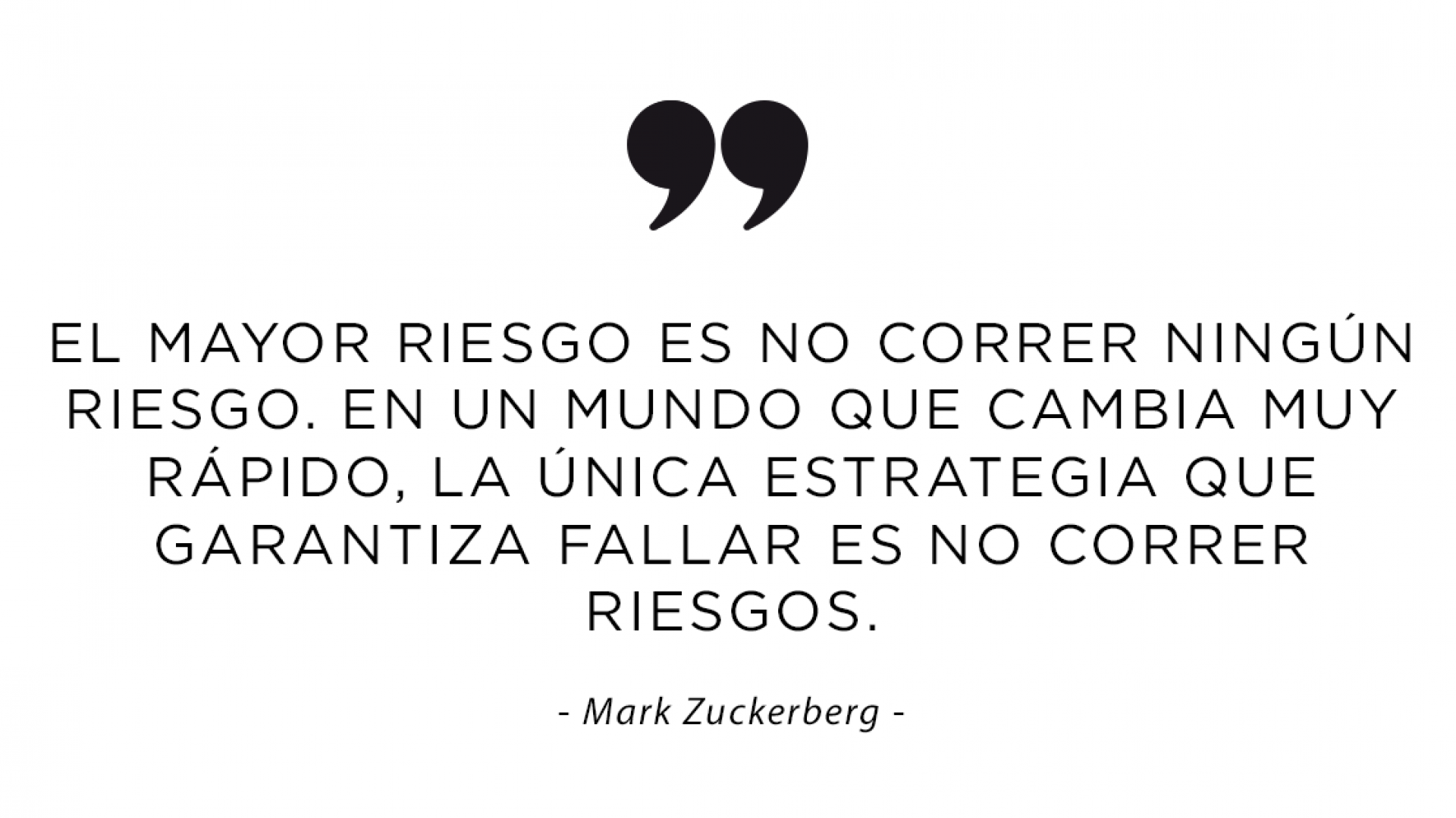 Frase Mark Zuckerberg